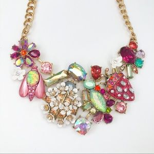 Betsey Johnson Opulent Spring Necklace